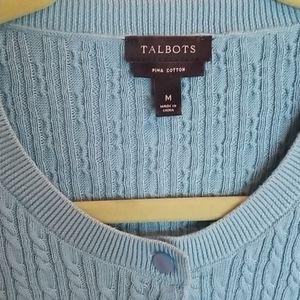 Talbots cardigan size Medium